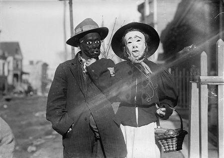 Thanksgiving Maskers (1910-1915) Bain News Service 42