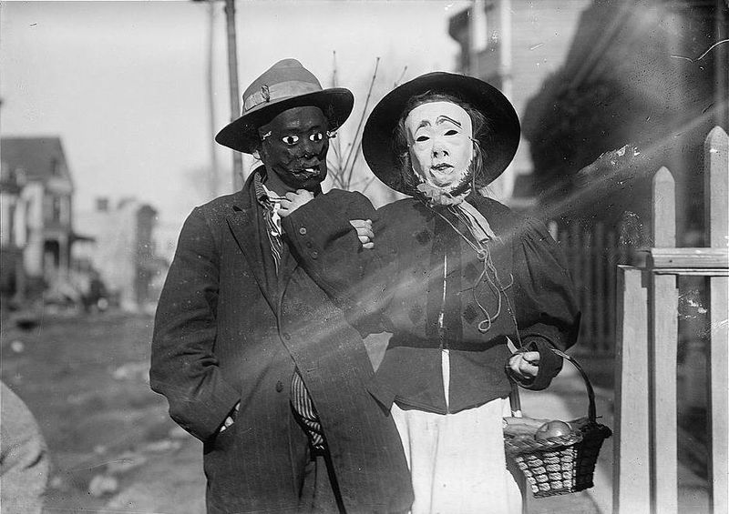 Thanksgiving Maskers (1910-1915) Bain News Service 42