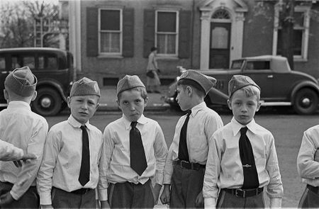 Sons of American Legion, Bethlehem, Pennsylvania 1935 Walker Evans