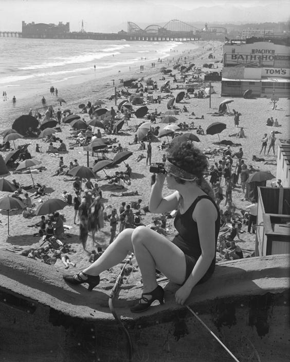 Santa Monica Pier C 1920