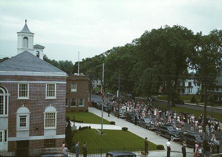Southington CT Memorial Day (Fenno Jacobs, 1942)