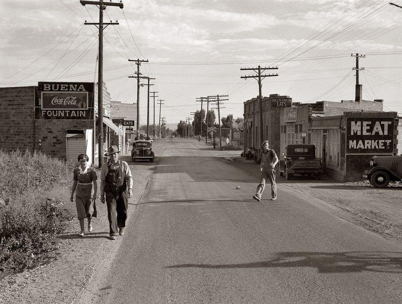 Buena, Washington, in Yakima County Dorothea Lange 1939