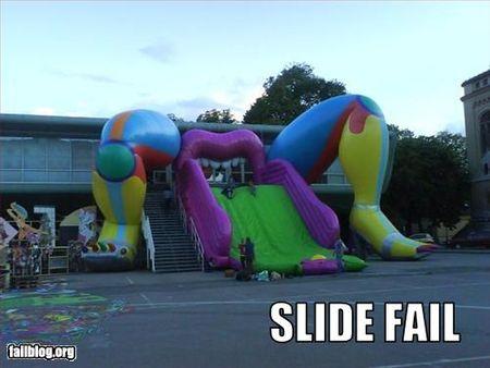 Slide fail