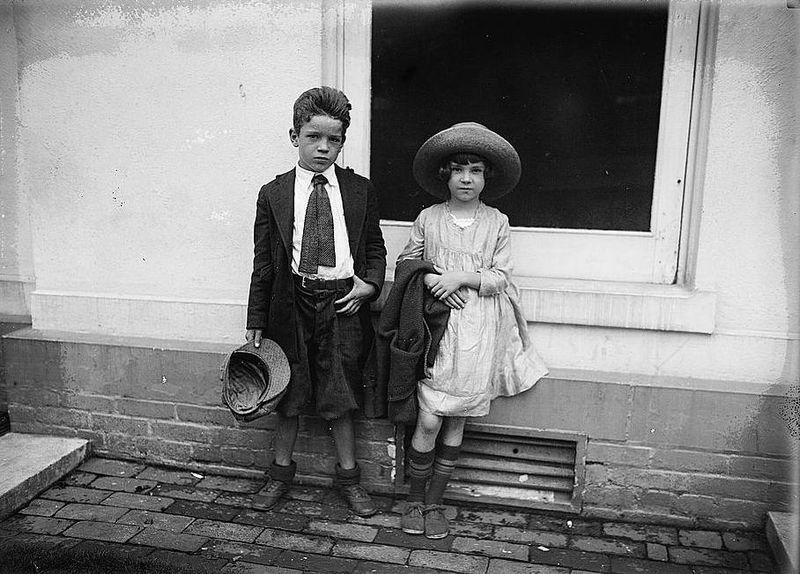 Will Flyth children 1922