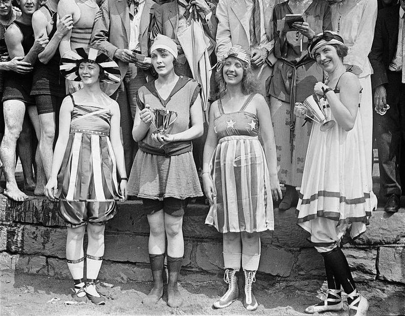 Bathing beach parade, July 26, 1919