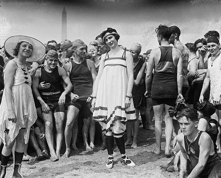 Bathing beach parade, July 26, 1919 b