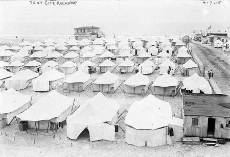 Tent City Far Rockawy NY