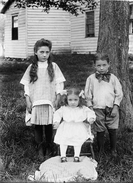 Andrea children, Vienna, Va., 1912