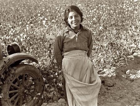 Cotton picker. Southern San Joaquin Valley, California dorothea lange 1936
