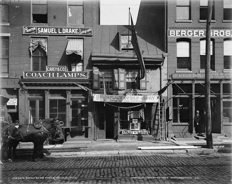 Betsy Ross House, Philadelphia c 1900