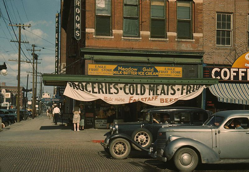 Lincoln nebraska 1942 John Vachon