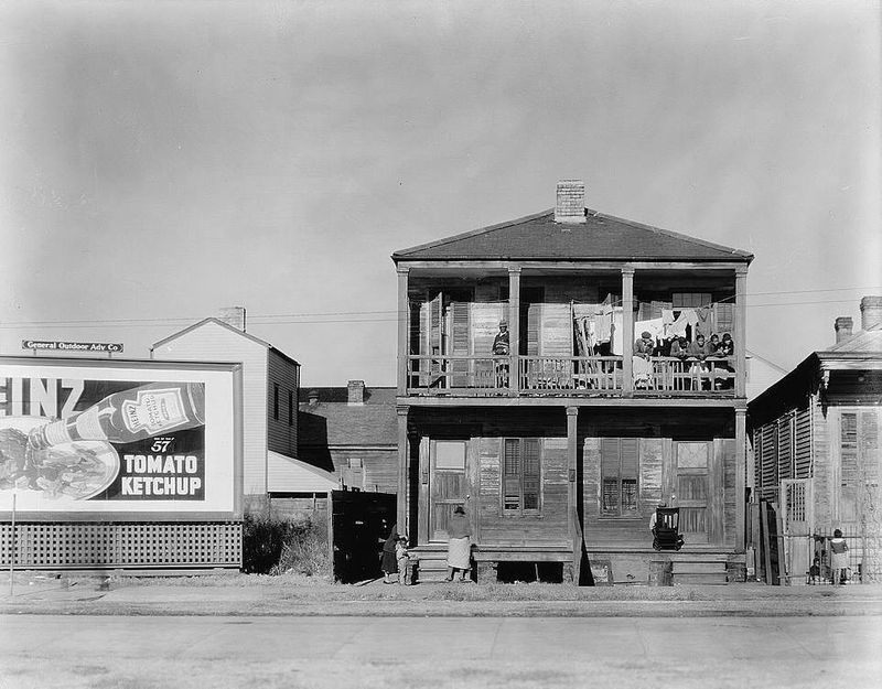 Negro house in New Orleans Walker Evans 1936