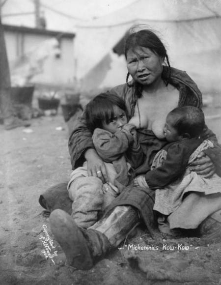 Inuit Woman 1904 Alaska FH Nowell