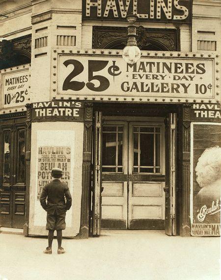 Vintage movie theatre