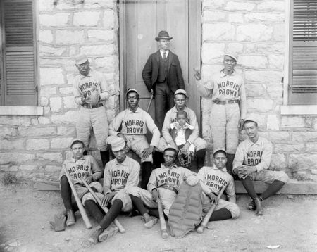 Baseball players morris brown college c 1900