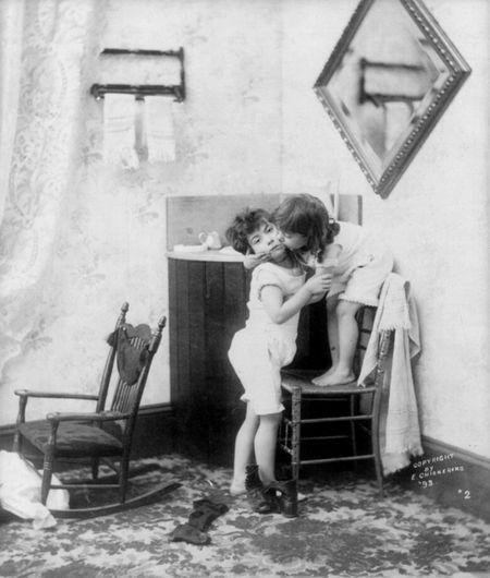 Scott children 1893 E, chickering