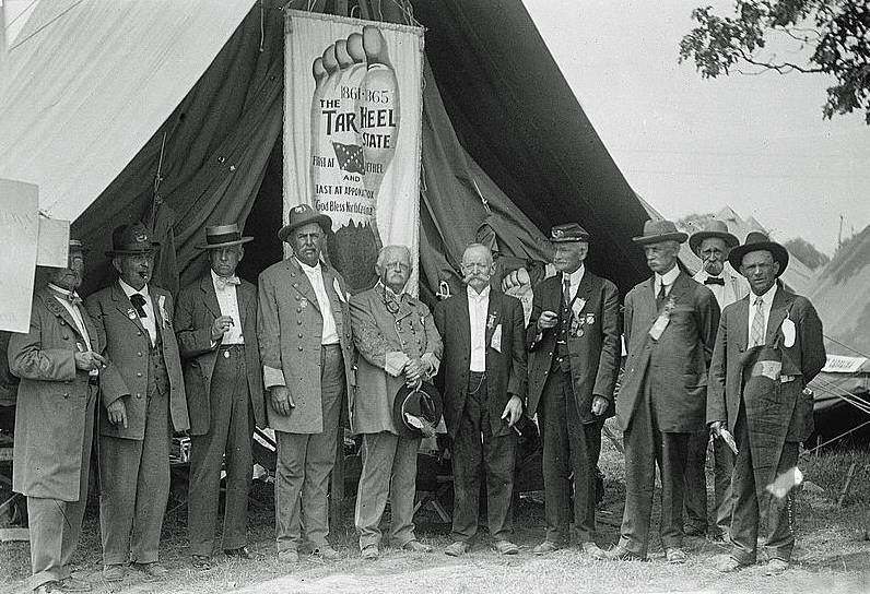 C.S.A Veterans, Gettysburg, Pa., 1913