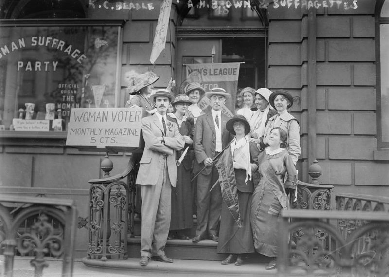 K.C. Beadle, A.H. Brown, and suffragettes 1910 1915
