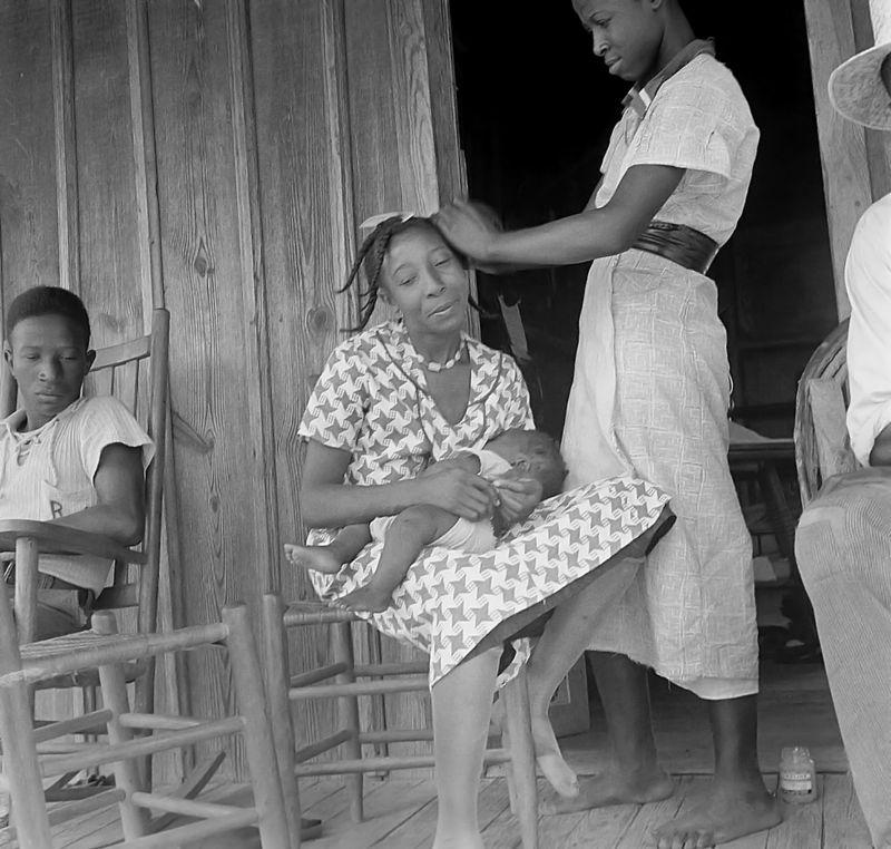 Near Earle, Arkansas dorothea lange 1936