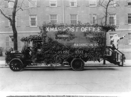 Christmas post office 1920