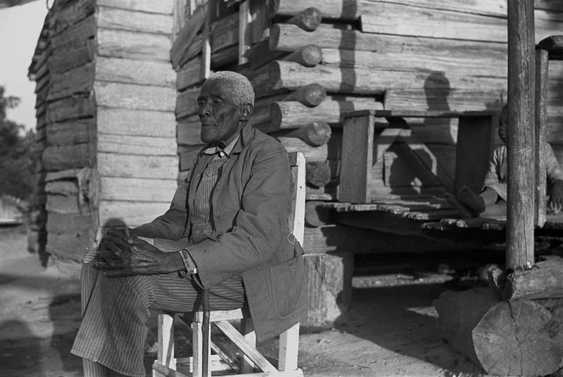 Old man Moseley, now blind, Gees Bend, Alabama Marion Post Walcott 1939