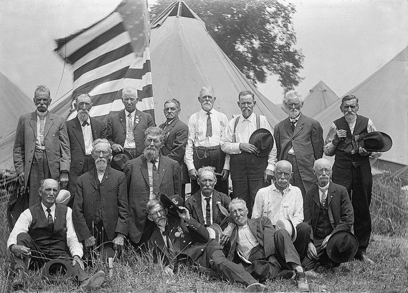 GAR Veterans, Gettysburg, Pa., 1913