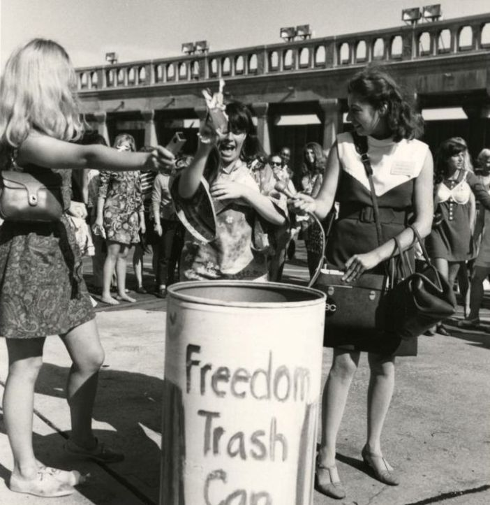 Miss america-freedom trash can