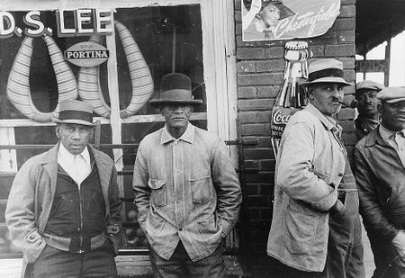 General store, Mound Bayou, Mississippi Russell Lee 1939