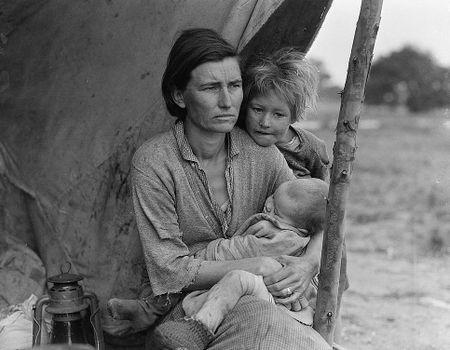 Dorothea lange 1936 migrant mother