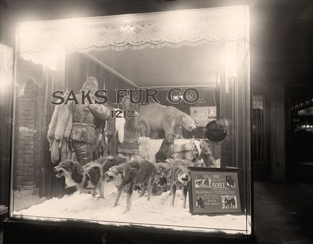 Saks fur company store front b