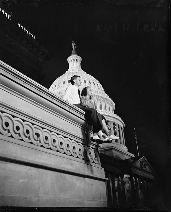 House pages working late 1939
