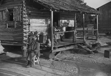 Old man Moseley, now blind, Gees Bend, Alabama Marion Post Walcott 1939 b