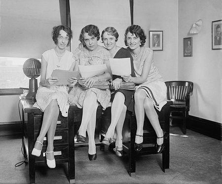 The Girls of Aeronautic Division, U.S Department of Commerce 9/29/29