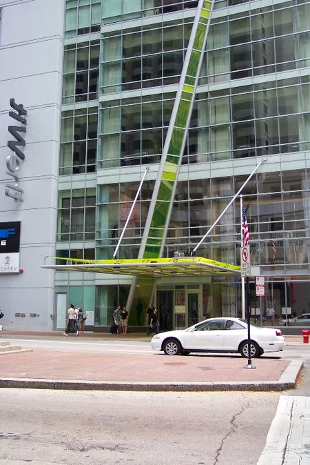 The Wit Hotel entrance
