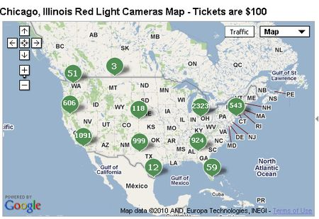 Red Light Cameras And Pods