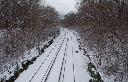 Christmas 2010 skokie swift yellow line