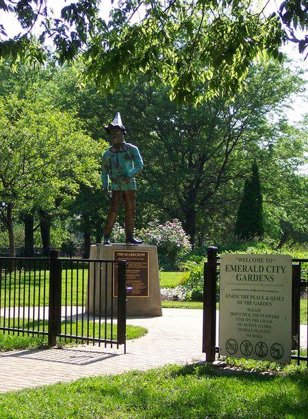 Scarecrow Oz Park Chicago
