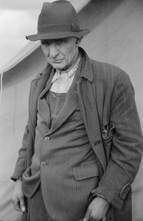 Evicted sharecropper, New Madrid County, Missouri Arthur Rothstein 1939 8