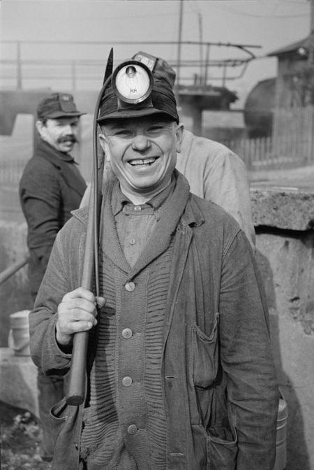 Miner at American Radiator Mine, Mount Pleasant, Westmoreland County, Pennsylvania mydans 1936