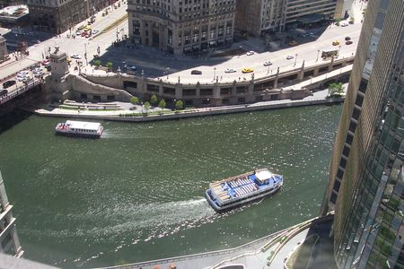 Chicago River Dirty