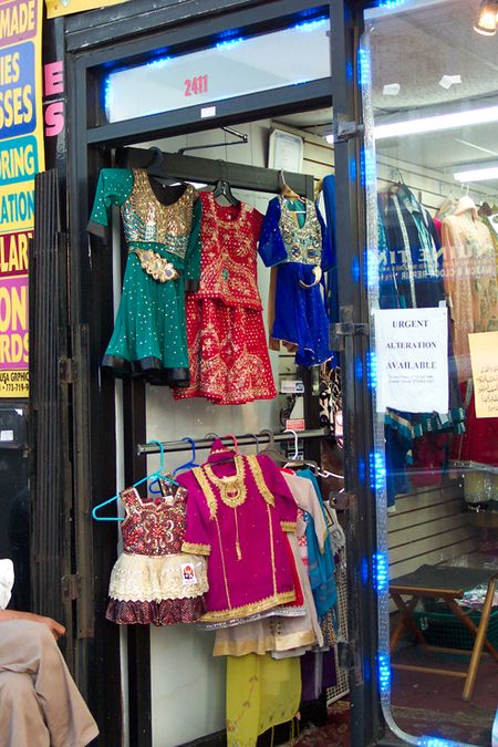 Children's clothing, Devon Avenue, Rogers Park Chicago