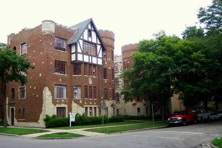 Rogers Park apartment house