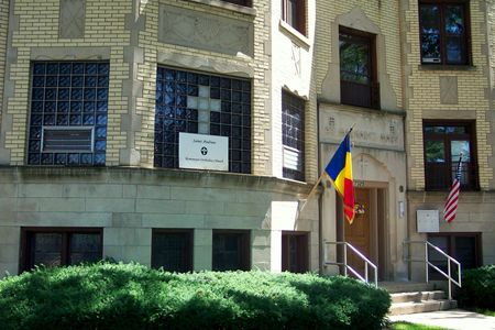 St. Andrew's Romanian Orthodox Catholic Church shares building with St. Margaret Mary RC Rectory