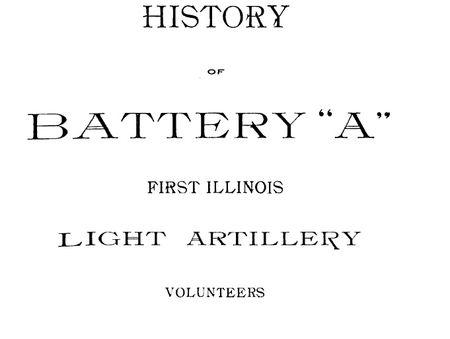 Battery A history