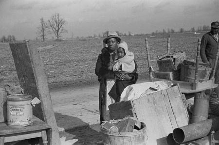 Evicted sharecroppers, New Madrid County, Missouri Arthur Rothstein 1939