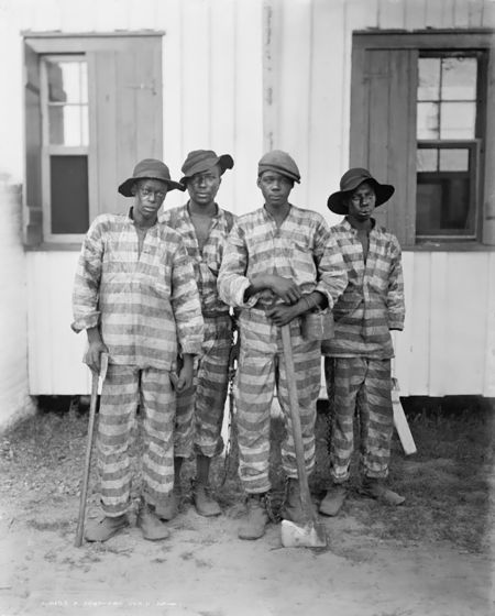 A Southern chain gang Detroit publishing 1900 to 1906