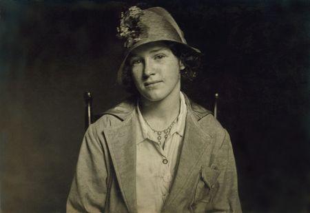 14 year old irish applying for weaver job in Fall River 1917 hine