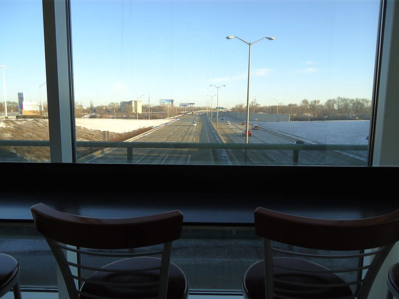 Starbucks tollway