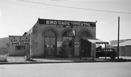 F. D. Nichols, Bird Cage Theatre, Allen Street, near Sixth Street, Tombstone, Cochise County, AZ 1937