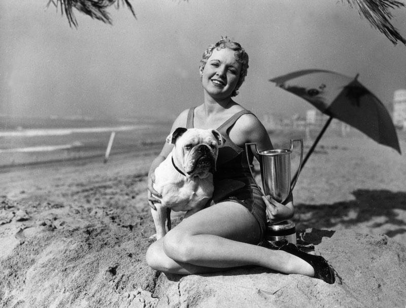 Venice beach animal show 1936